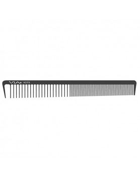 VIA Reversible Cutting Styling Comb- Black
